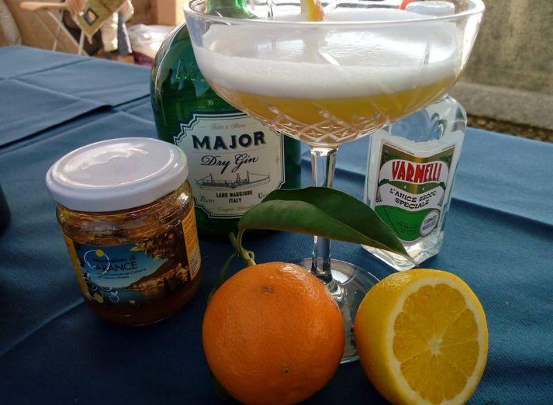 Cannero's drink orange: il cocktail agli agrumi del Lago Maggiore