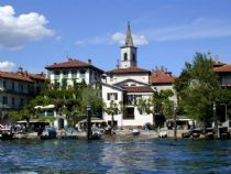 Battel island pescatori Lake Maggiore