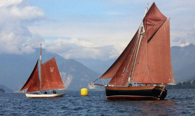Corso di vela aurica sul Lago Maggiore