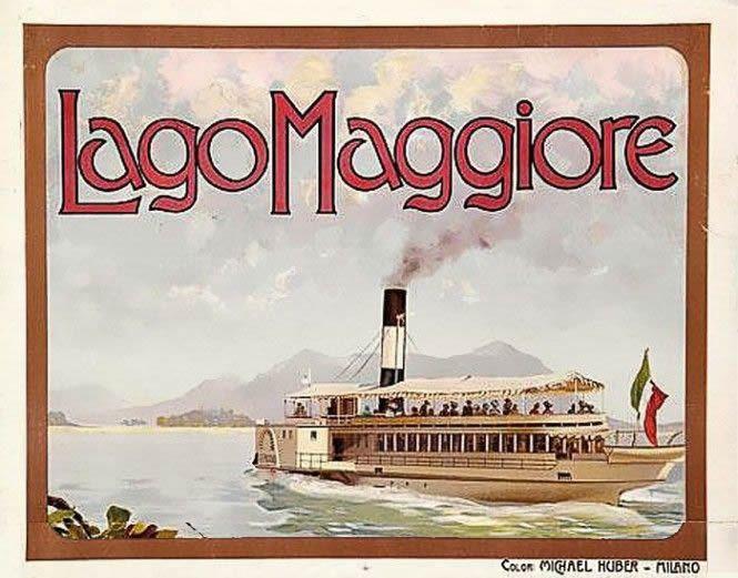 Sulle acque del Lago Maggiore in pieno stile Belle Epoque