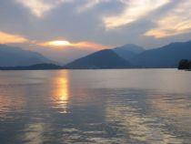 Laveno lake Maggiore