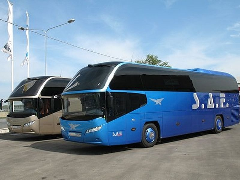 Biglietti per parcheggio autobus a tariffa convenzionata