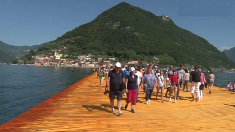 Camminare sulle acque Lago Maggiore? Forse nel 2019