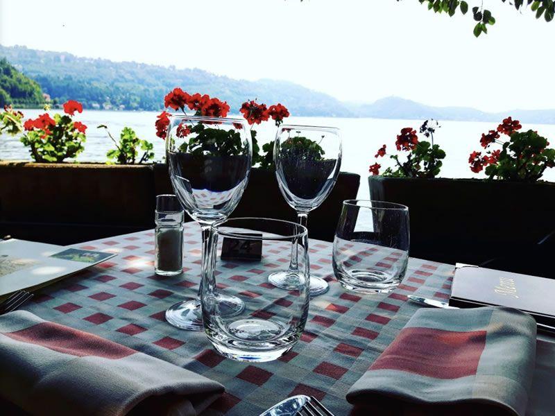 Restaurant San Giulio lac Orta