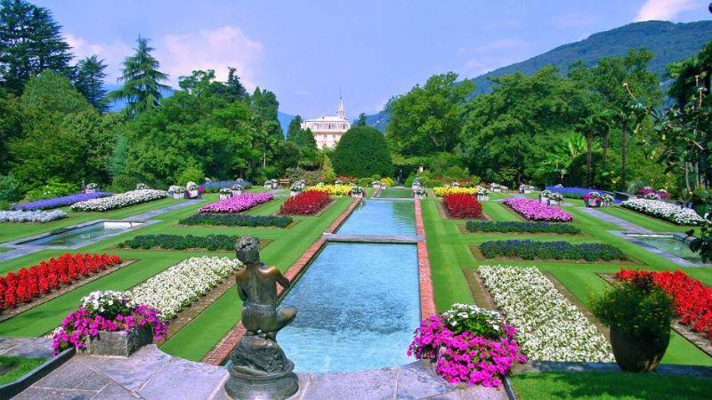 Fontane e giochi d'acqua sul Lago Maggiore